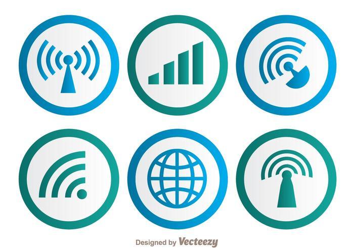 Symbole Wifi vecteur