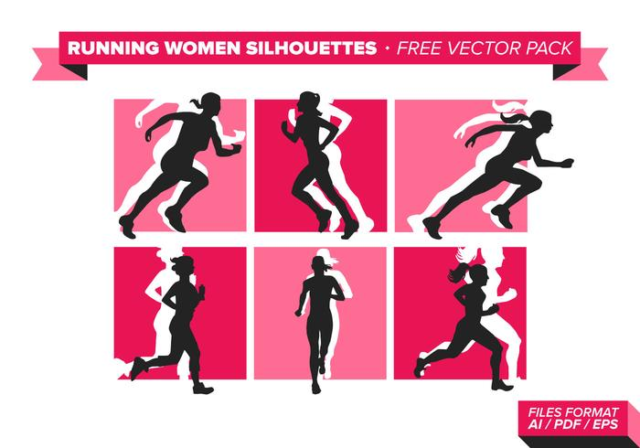 Pack de vecteur Free Vector Women's Silhouette