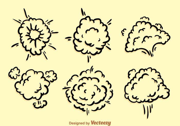 Dust Cloud Explosion vecteur