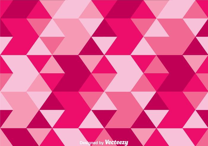 Vecteur triangle rose camo