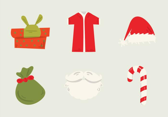 Illustration vectorielle gratuite de Santa's Workshop vecteur
