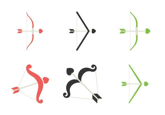Illustration vectorielle gratuite de Cupids Bow vecteur