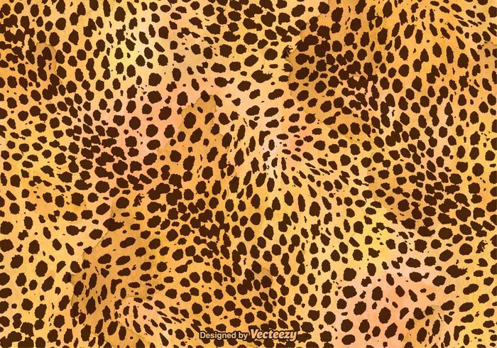 Fond d'écran de l'image vectorielle gratuite Leopard Print vecteur