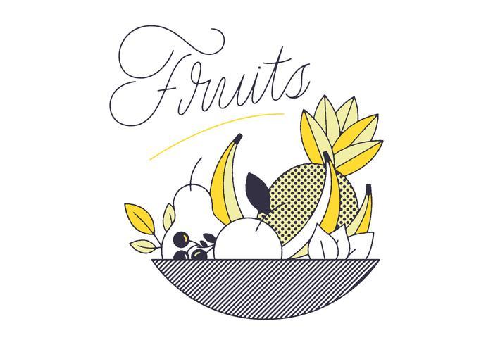 Vecteurs de fruits gratuits vecteur