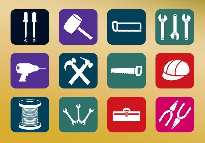 Outils vecteurs d'icônes vecteur