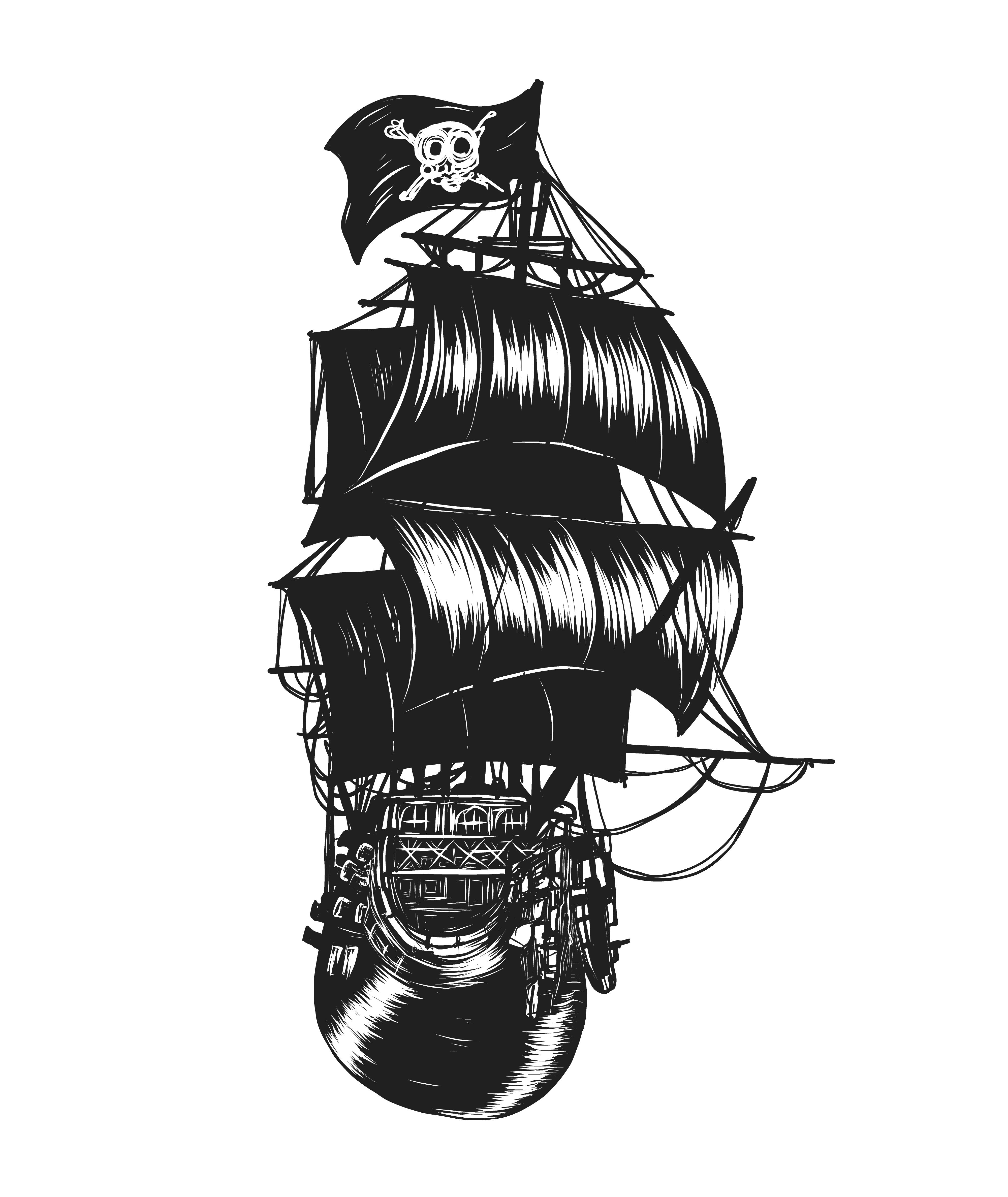 Dessin De Main De Bateau Pirate Telecharger Vectoriel Gratuit Clipart Graphique Vecteur Dessins Et Pictogramme Gratuit