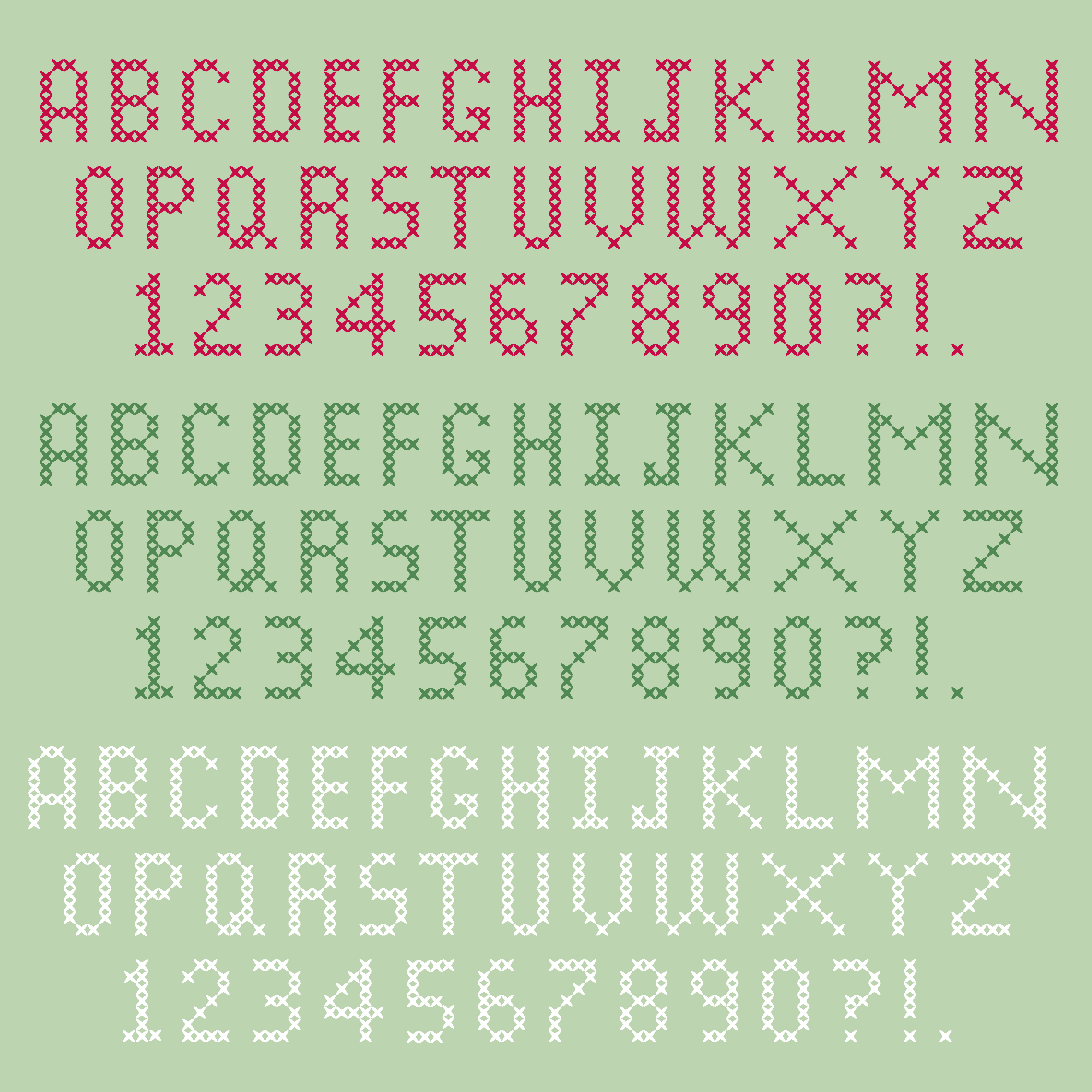 Alphabet Point De Croix Telecharger Vectoriel Gratuit Clipart Graphique Vecteur Dessins Et Pictogramme Gratuit