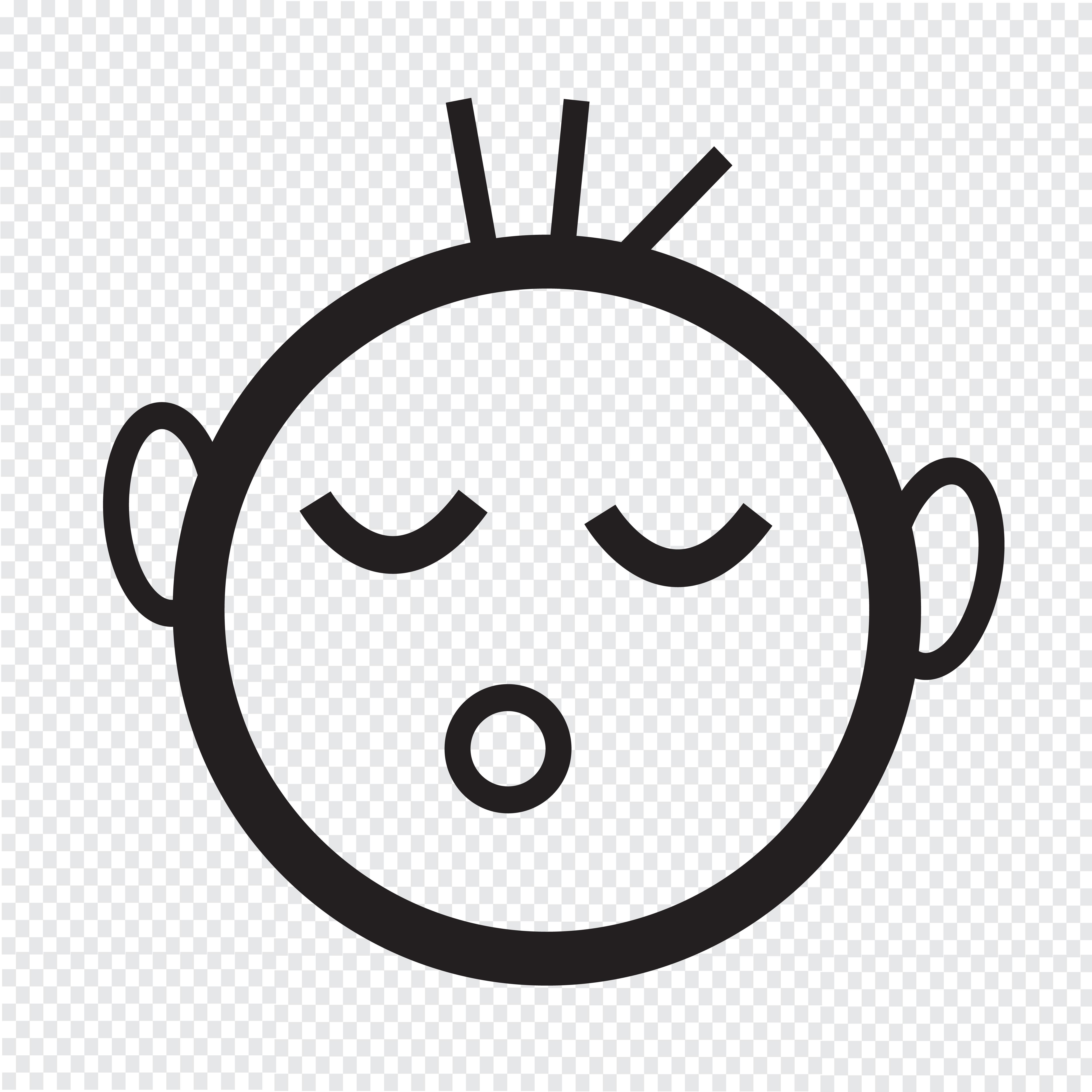 Icone De Bebe Qui Dort Telecharger Vectoriel Gratuit Clipart Graphique Vecteur Dessins Et Pictogramme Gratuit