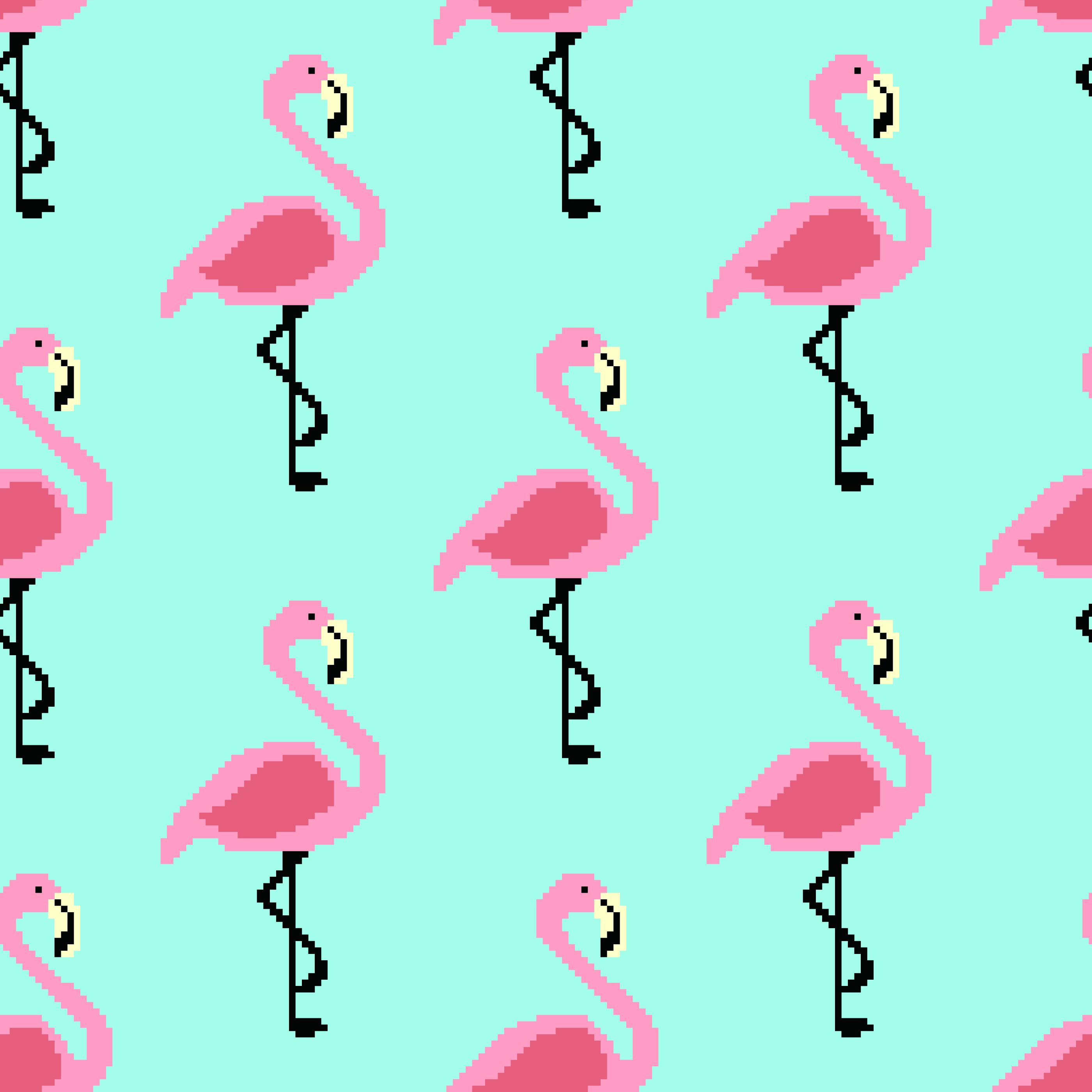 Modele De Vecteur Flamingo Art Pixel Telecharger Vectoriel Gratuit Clipart Graphique Vecteur Dessins Et Pictogramme Gratuit