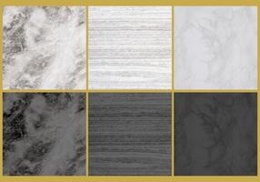 Vecteurs de texture de marbre vecteur