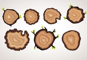 Objets d'anneau d'arbre vectoriel
