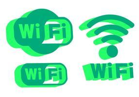 Wifi logo vecteurs