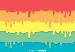 Fond d'écran de peinture colorée vecteur