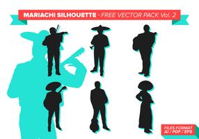Mariachi pack vecteur gratuit vol. 2