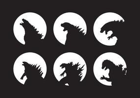 Vecteurs Godzilla