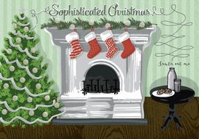 Illustration de fond de Noël gratuite
