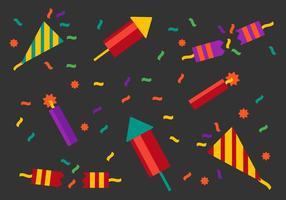 Vecteur party libre