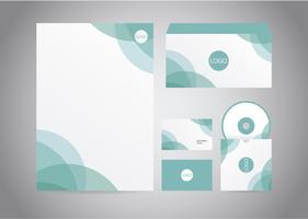 Tête abstraite de lettres turquoise