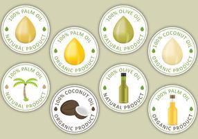 Étiquettes de pétrole