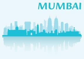 Horizon de Mumbai vecteur