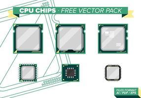 Pack processeur gratuit de chipset vecteur