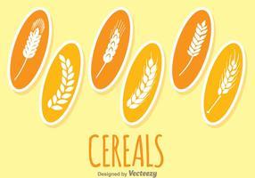 Céréales Plantes vecteur