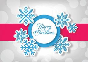 Joyeux Noël illustration vectorielle vecteur