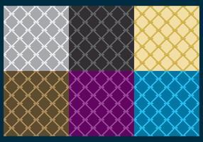 Vecteurs de texture de filet de pêche vecteur