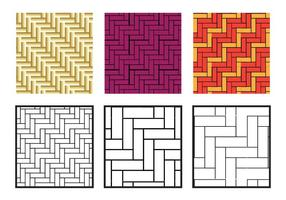 Vecteur diagonal de motif de chevrons