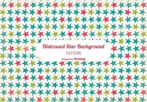 Old Splressed Star Background vecteur