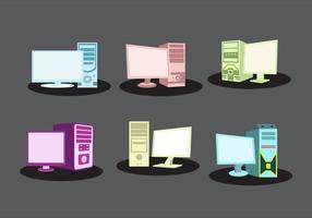 Vecteurs informatiques personnels vecteur