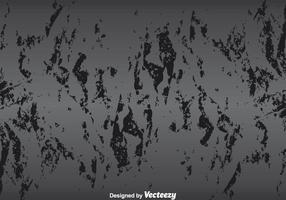 Cracked Paint Dark Grey Wall vecteur