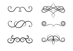 Vecteur gratuit de monogrammes