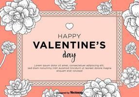 Bonne carte de Saint-Valentin