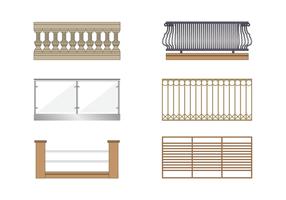 Vecteur de balcon gratuit