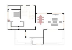 Vector de plan d'étage gratuit