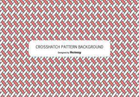 Modèle de fond de style Crosshatch vecteur