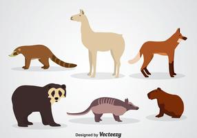 Icônes d'animaux sauvages
