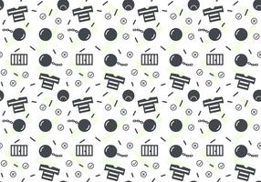 Free Robber and Police Patterns # 2 vecteur