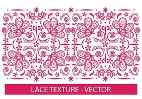 Texture de dentelle vecteur