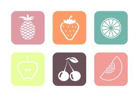 Vecteurs de fruits