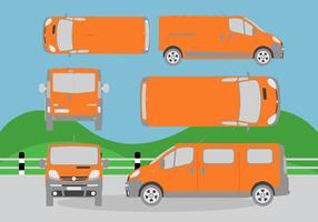 Vecteur minibus