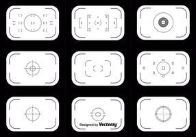 Ensemble vectoriel de viseur