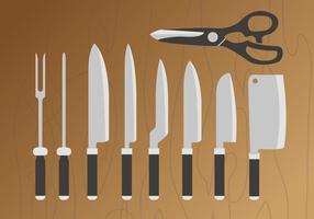 Couteau Pack Vector