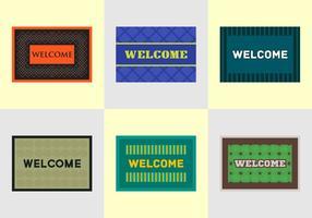 Vecteurs de bienvenue gratuits vecteur