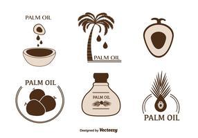 Vecteur d'huile de palme gratuit