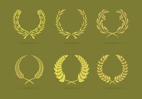 Vecteur d'illustrations de couronnes