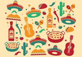 Vecteur mariachi pattern