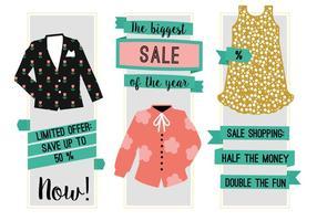 Fond de vecteur gratuit de vente de mode