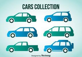 Collection de voitures vecteur